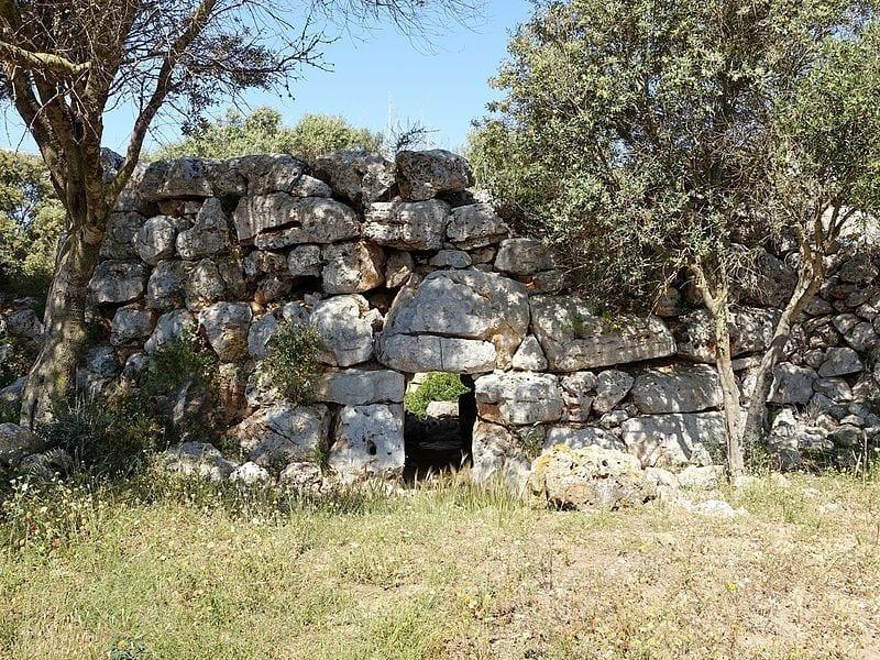 El Poblado dels Antigors es uno de los más antiguos de la isla de Mallorca