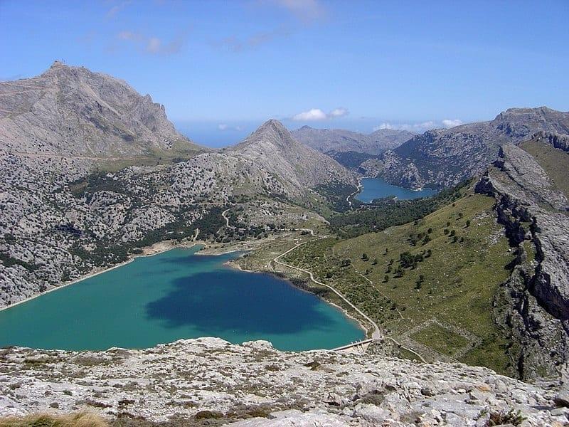 Vista de la Serra de Tramuntana de Mallorca