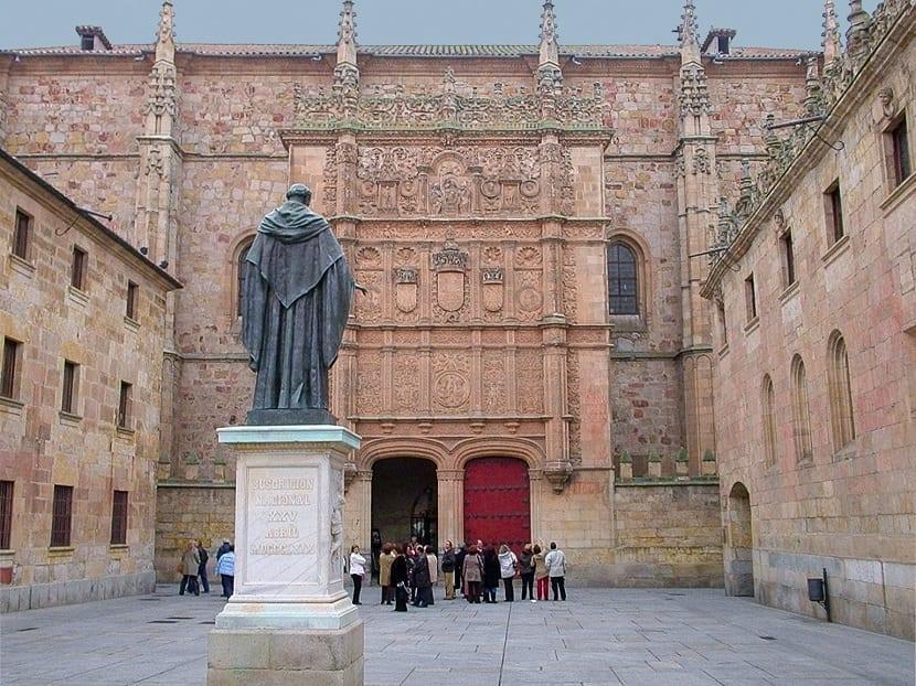 Visita Universidad Salamanca