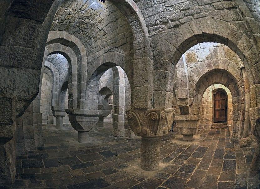 Cripta monasterio de Leyre
