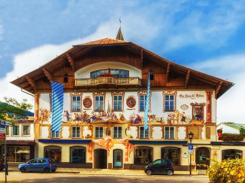 Holtel en Oberammergau