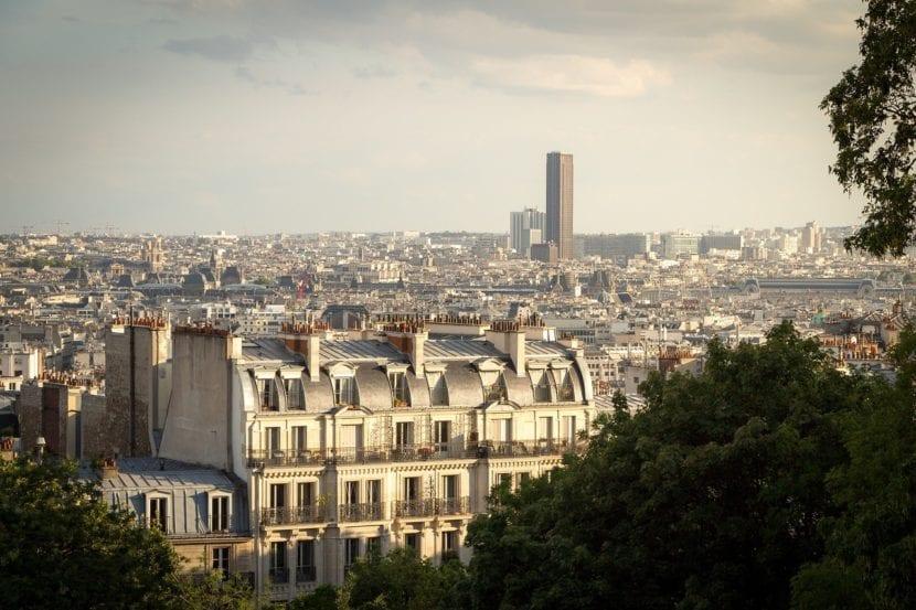Panorámica de la torre Montparnasse