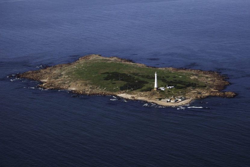 Panorama de la Isla de Lobos
