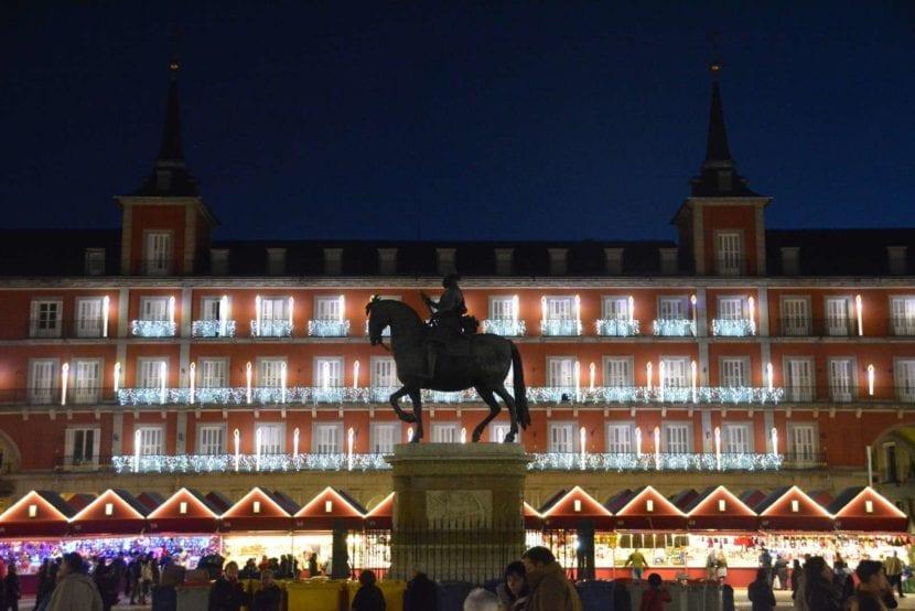 Plaza de Sol en Navidad