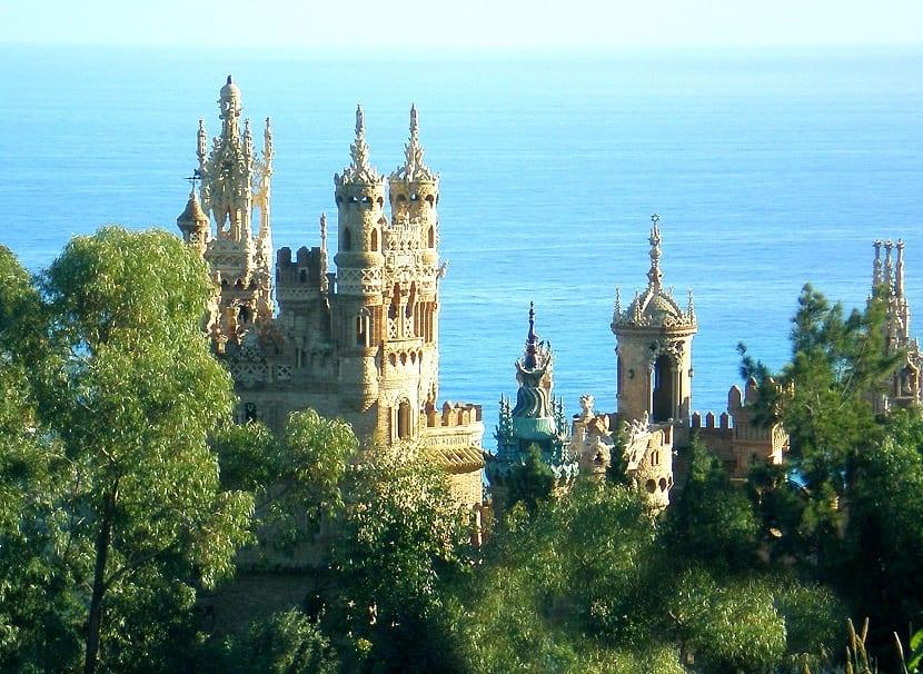 visita al castillo de Colomares