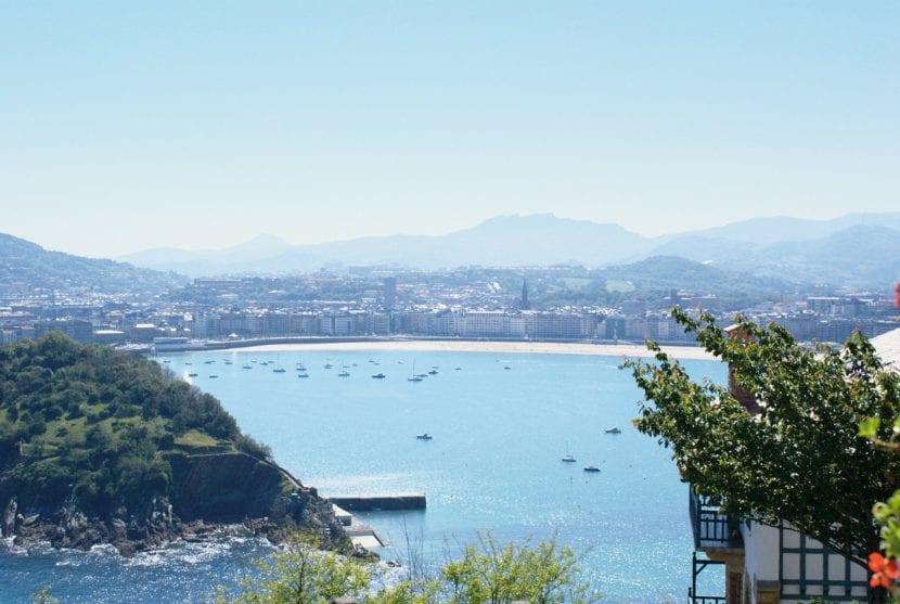 Bahía de la Concha en País Vasco