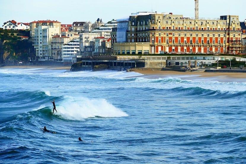 biarritz playas