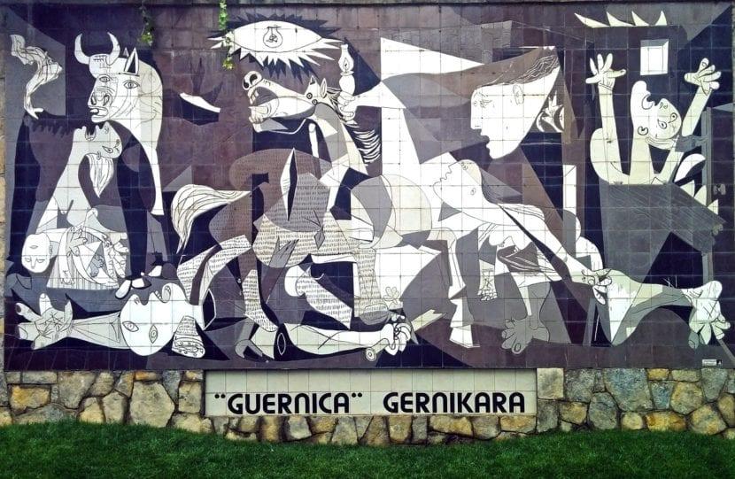 Réplica del cuadro en Guernica