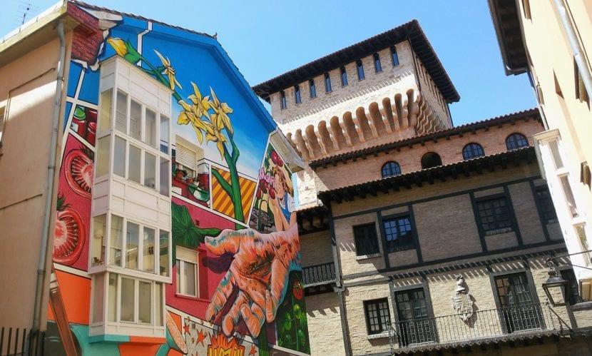 Mural en Vitoria Gasteiz