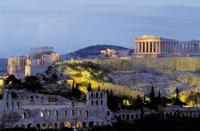 Acrópolis griego