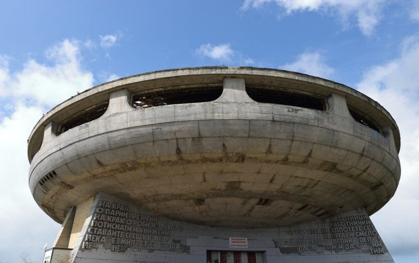 Buzludhza en Bulgaria