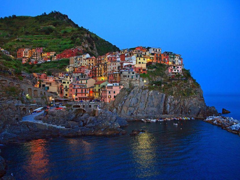 Manarola, el pueblo más famoso de Cinque Terre