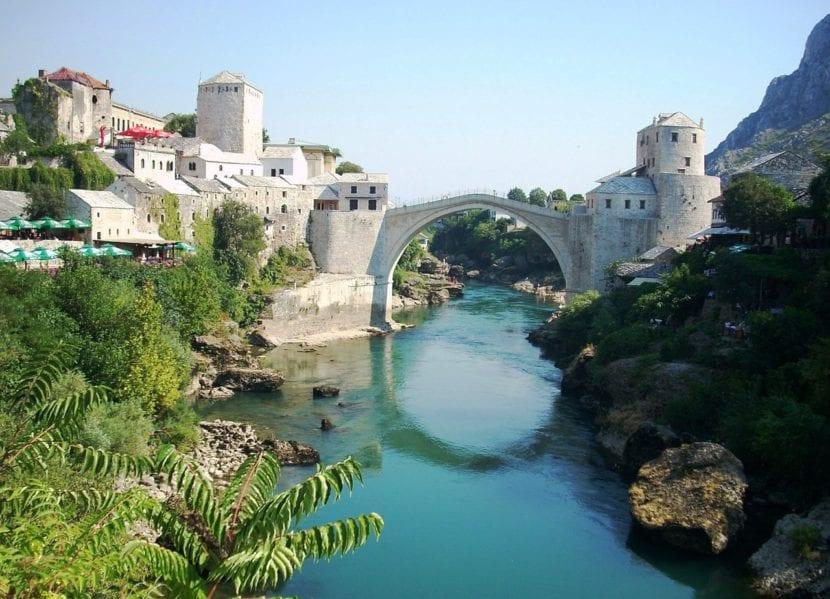 Puente de Moscar en Bosnia Herzegovina