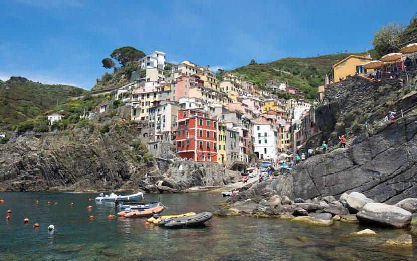 Masificación en Cinque Terre