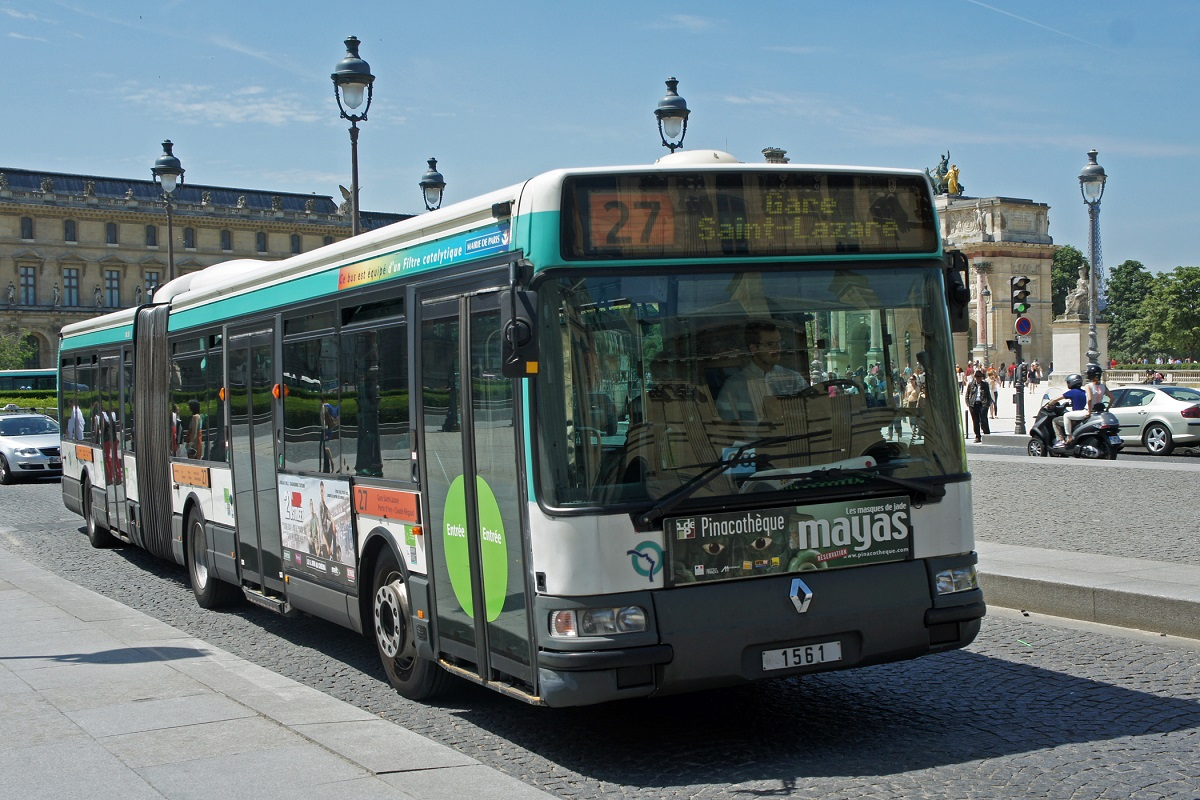 buses París