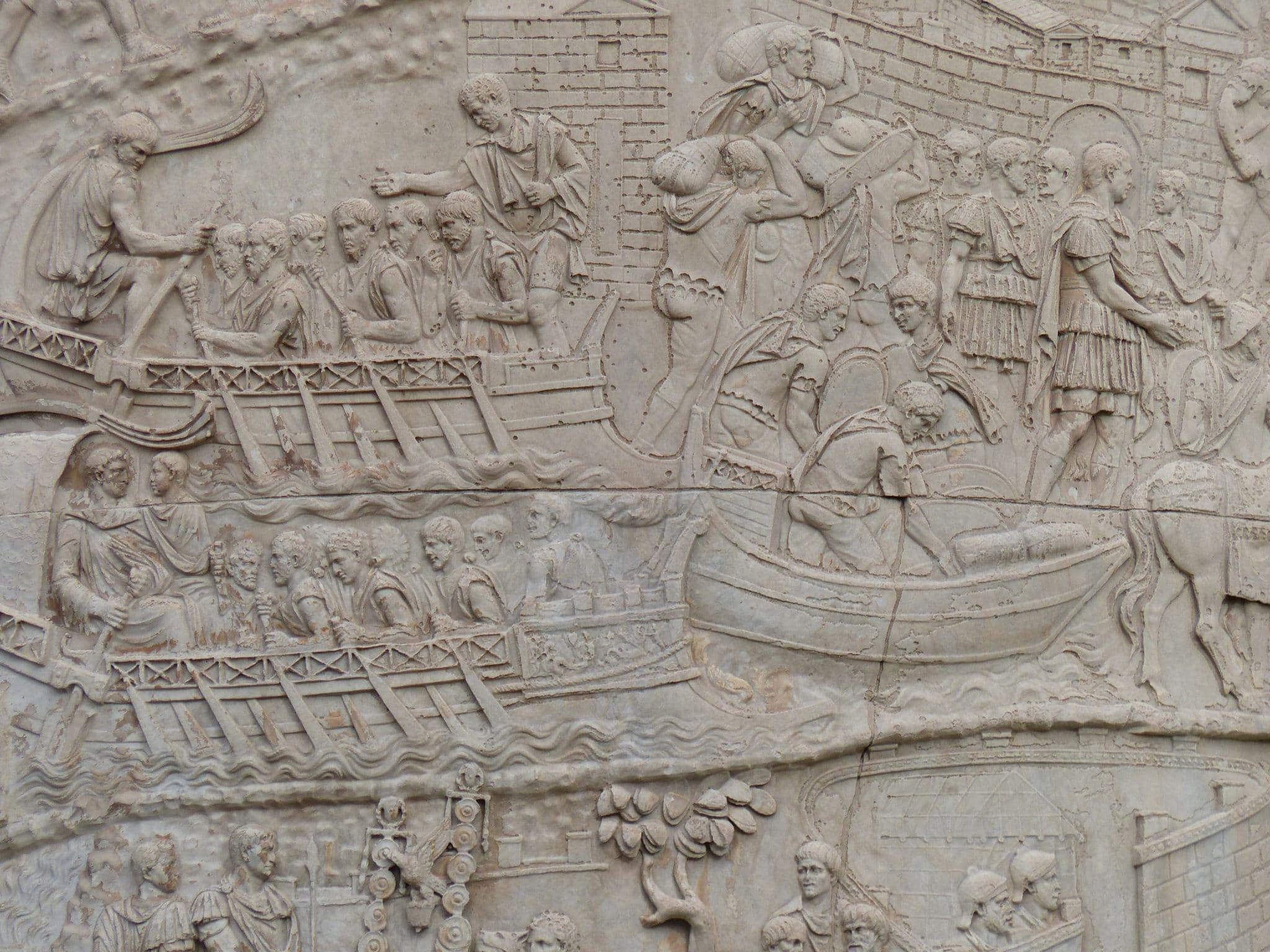 detalles trajano emperador