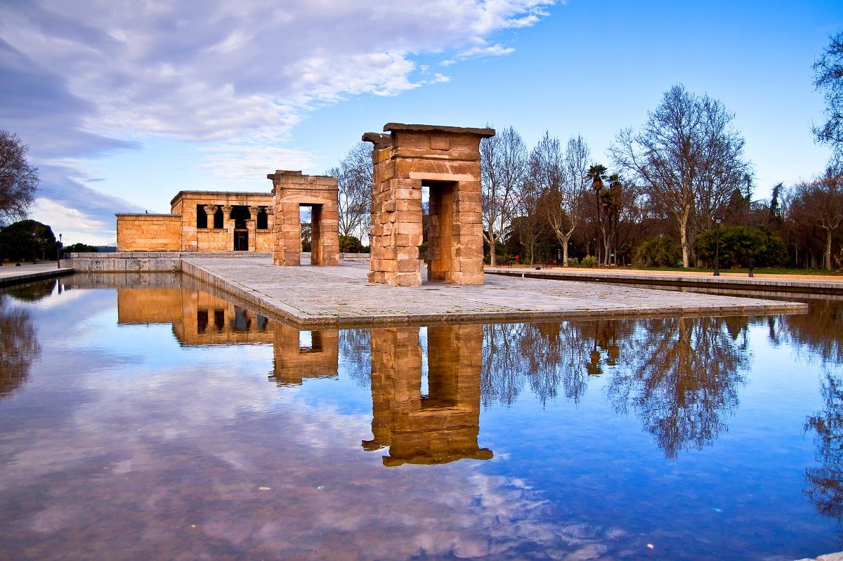 templo debod en madrid