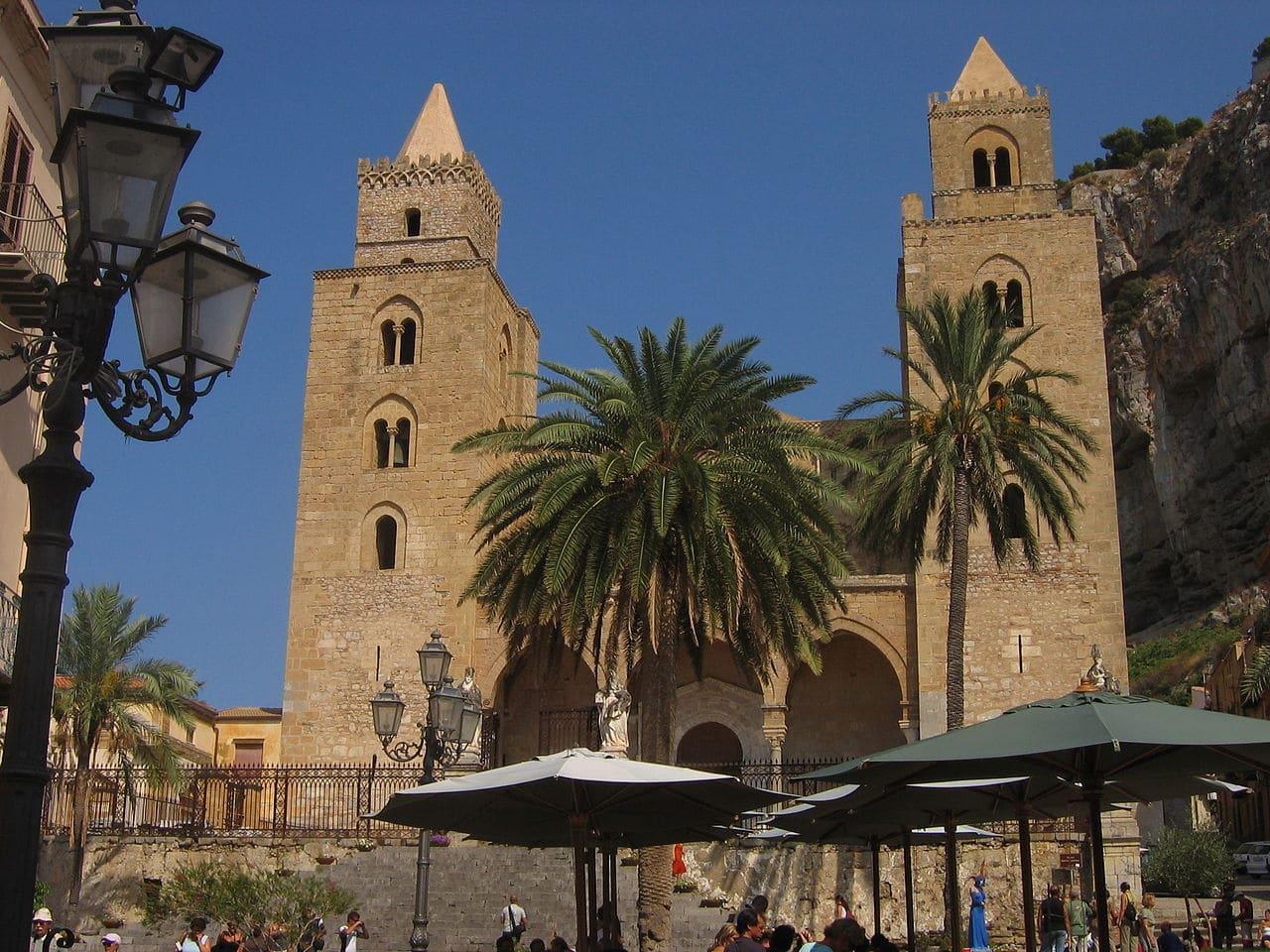 Imagen de la catedral de Cefalú