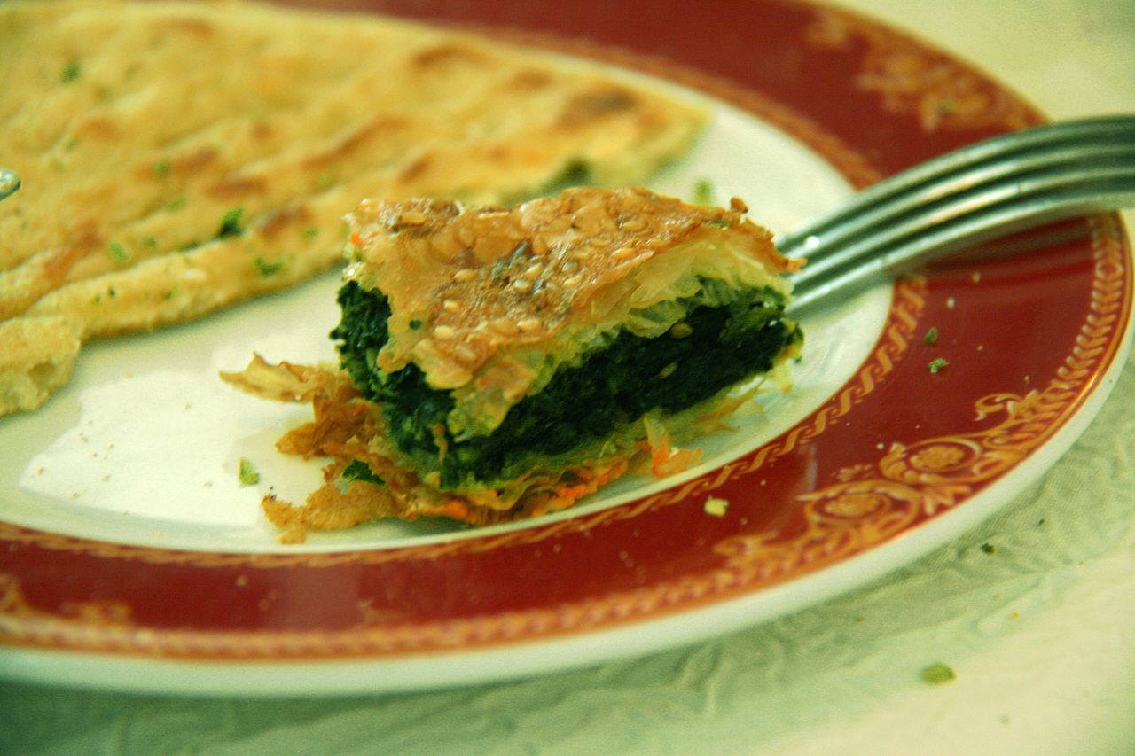 Un plato de Burek