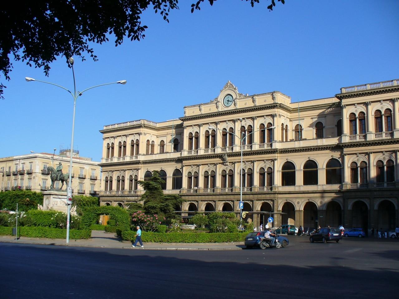 Vista de la estación de Palermo
