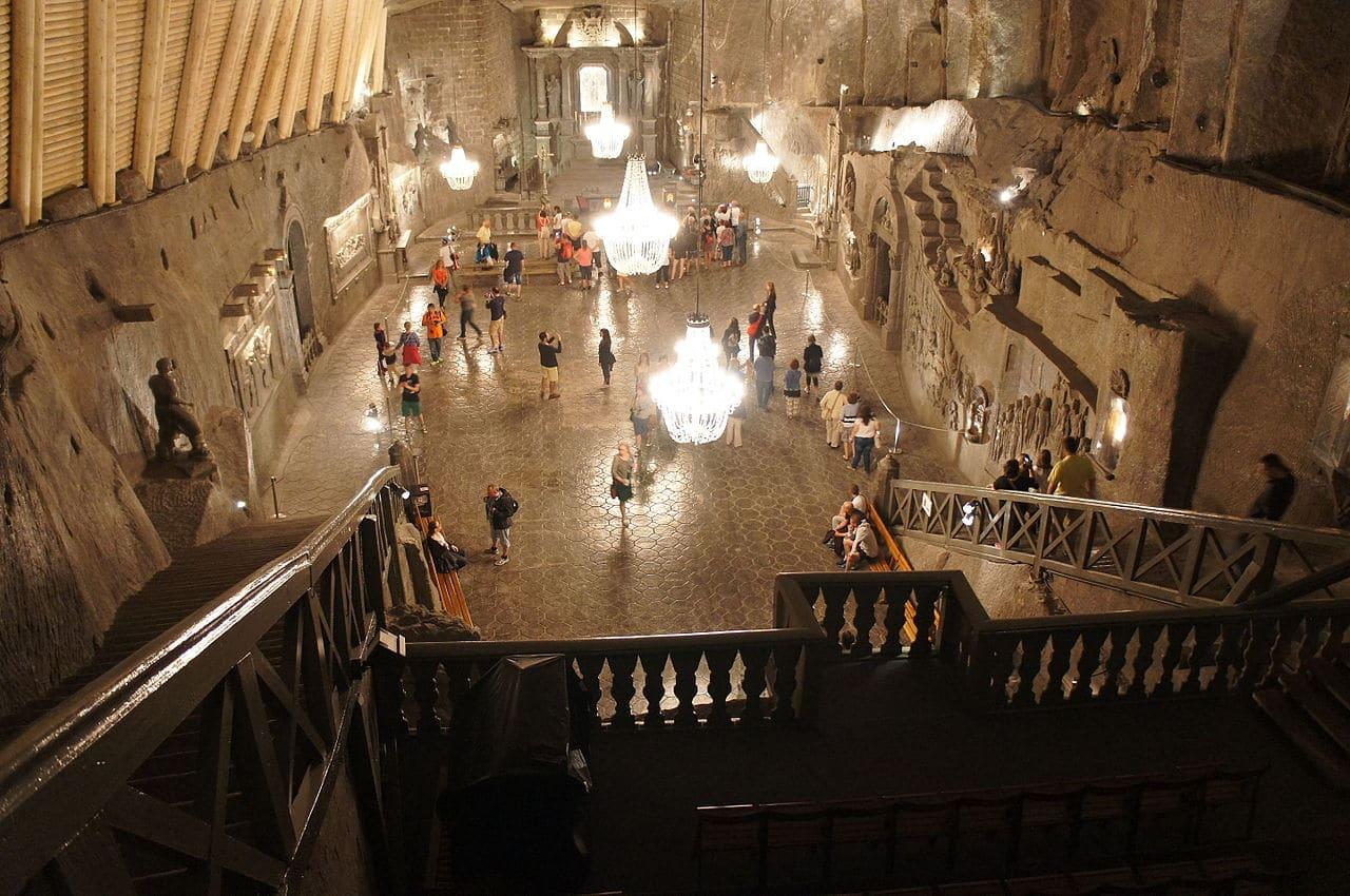 La capilla de Saint Kinga
