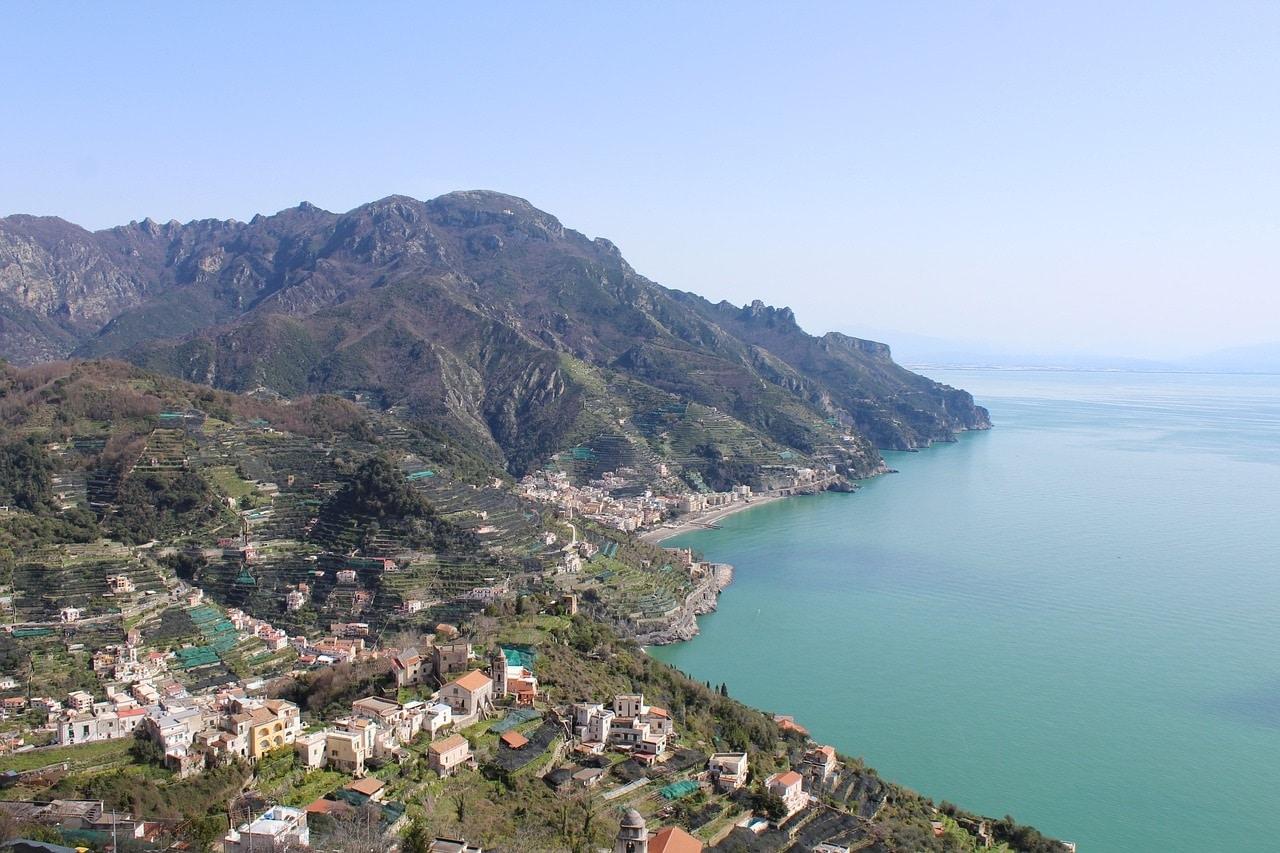 Vista de la Costa Amalfitana