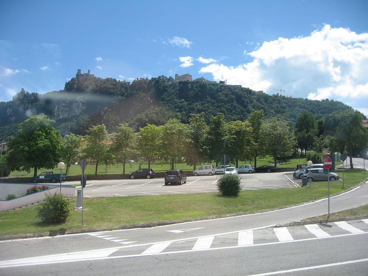 Vista del monte Titano