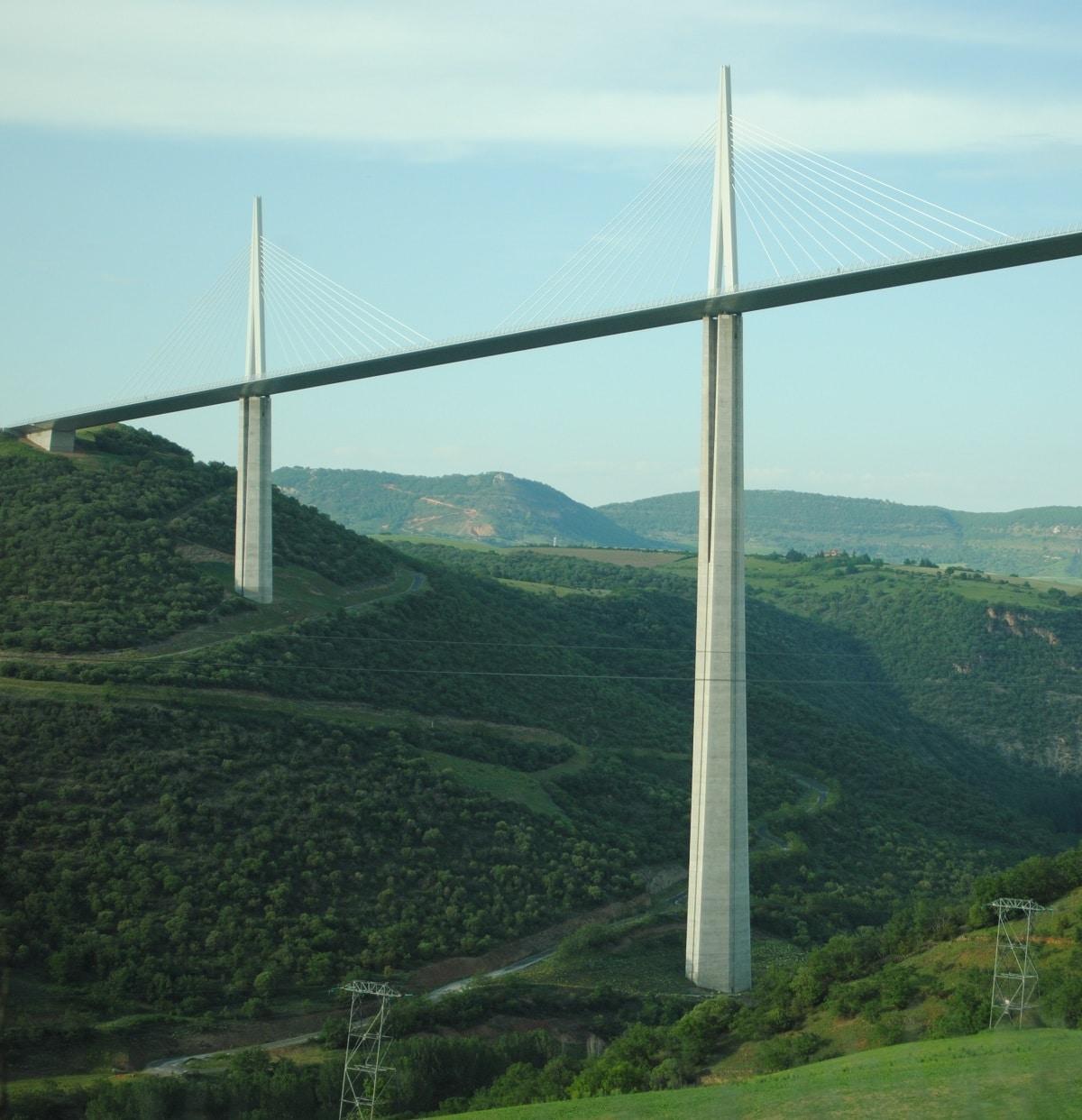 altura puente millau