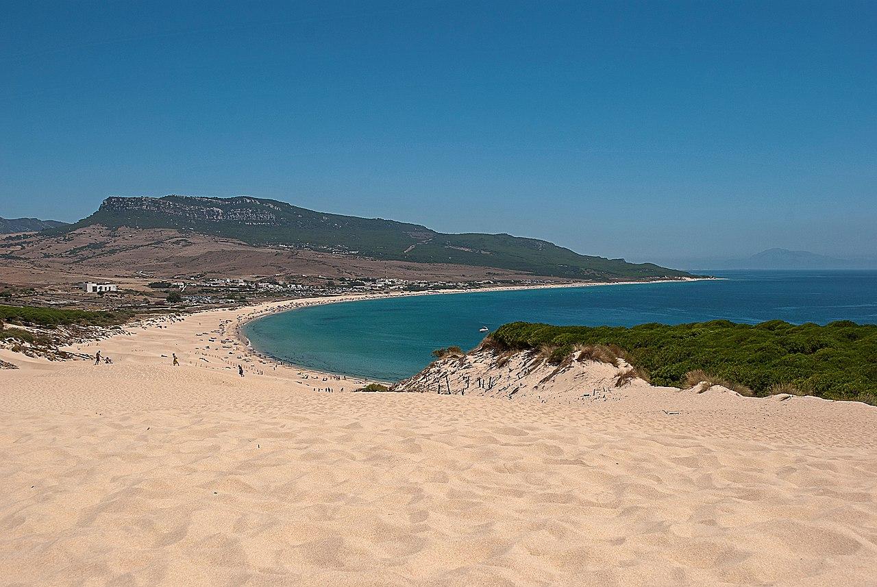 Vista de la playa de Bolonia