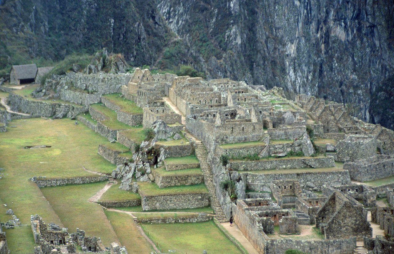 La ciudad de Machu Picchu