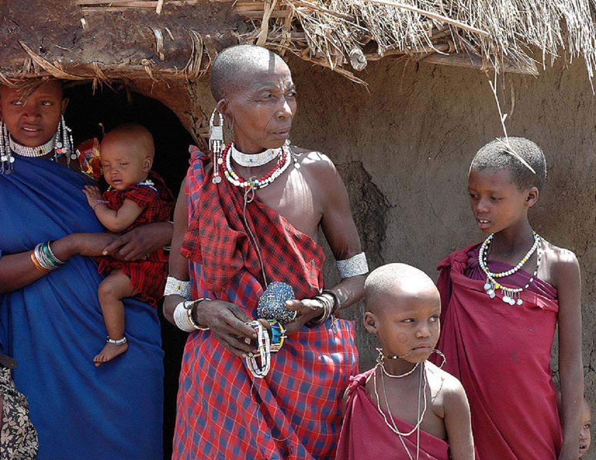 costumbres de Masais