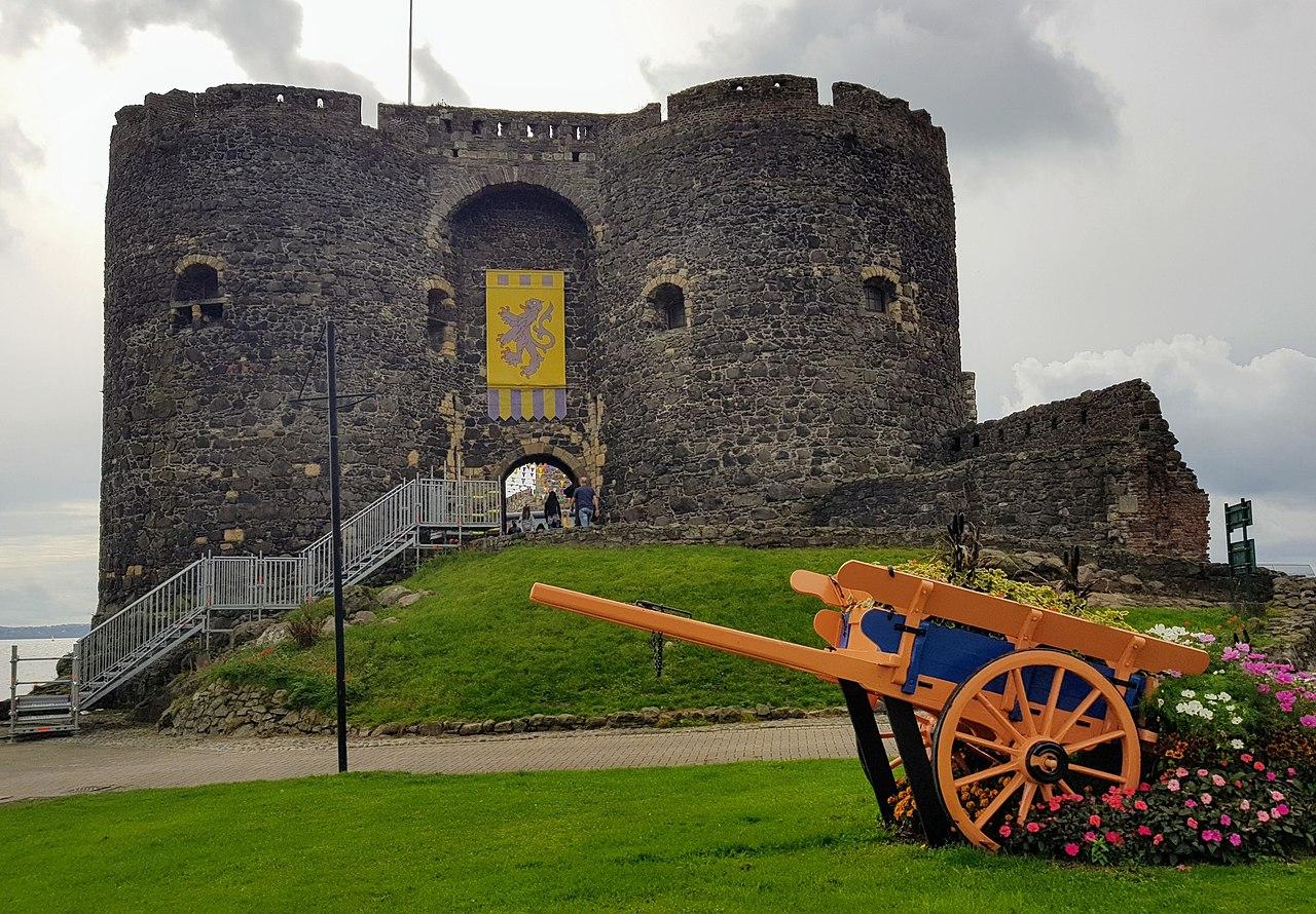El castillo de Carrickfergus