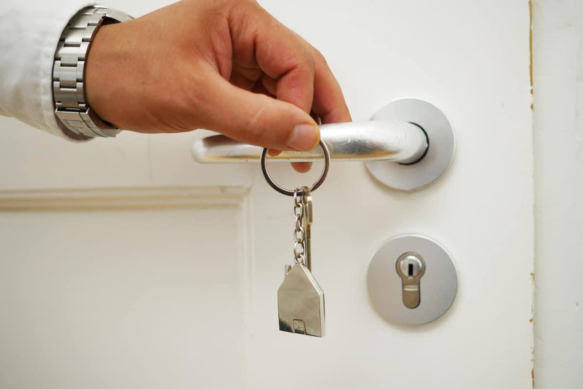 Entrega de llaves alquiler