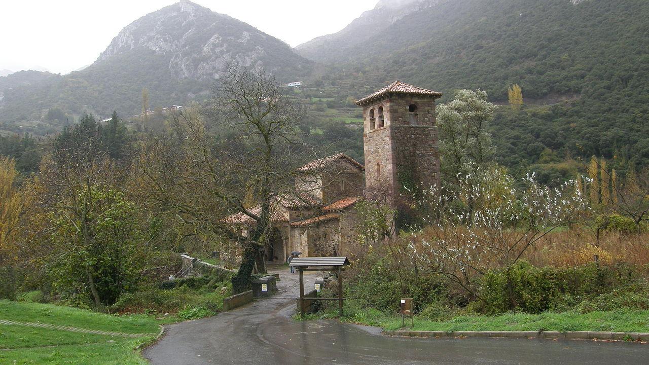 Foto de Santa María de Lebeña