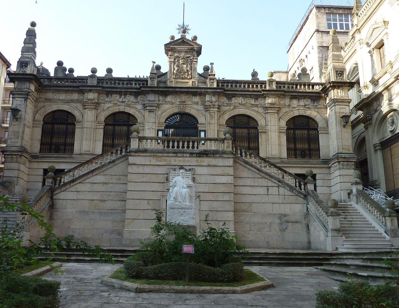 Biblioteca Menéndez Pelayo