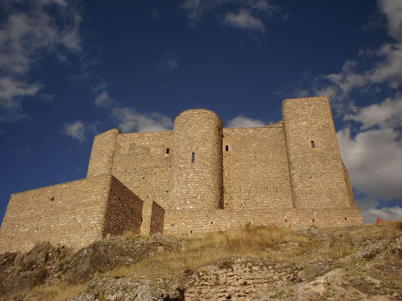 El castillo de Segura de la Sierra
