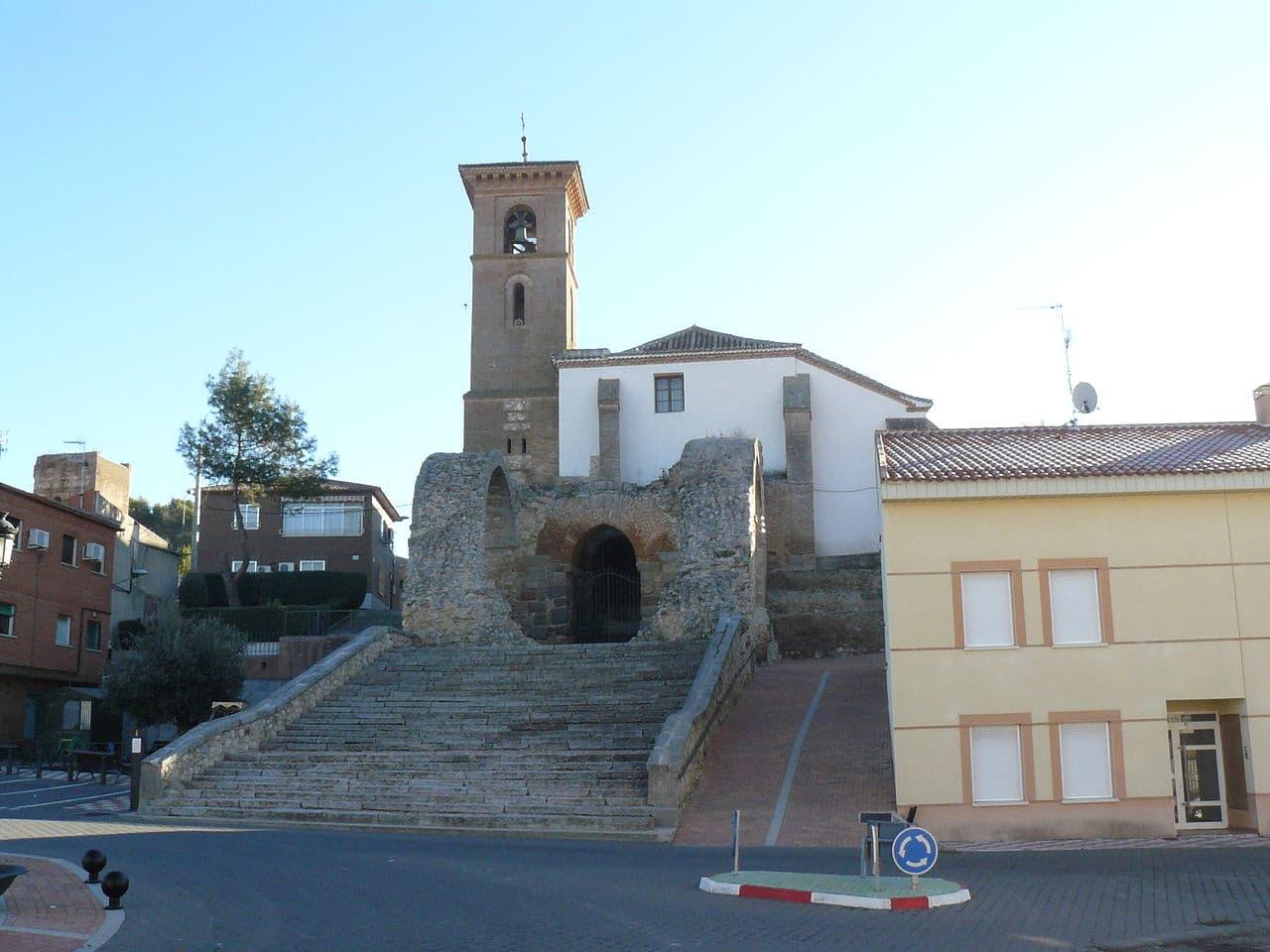 La iglesia de Santa María de los Alcázares