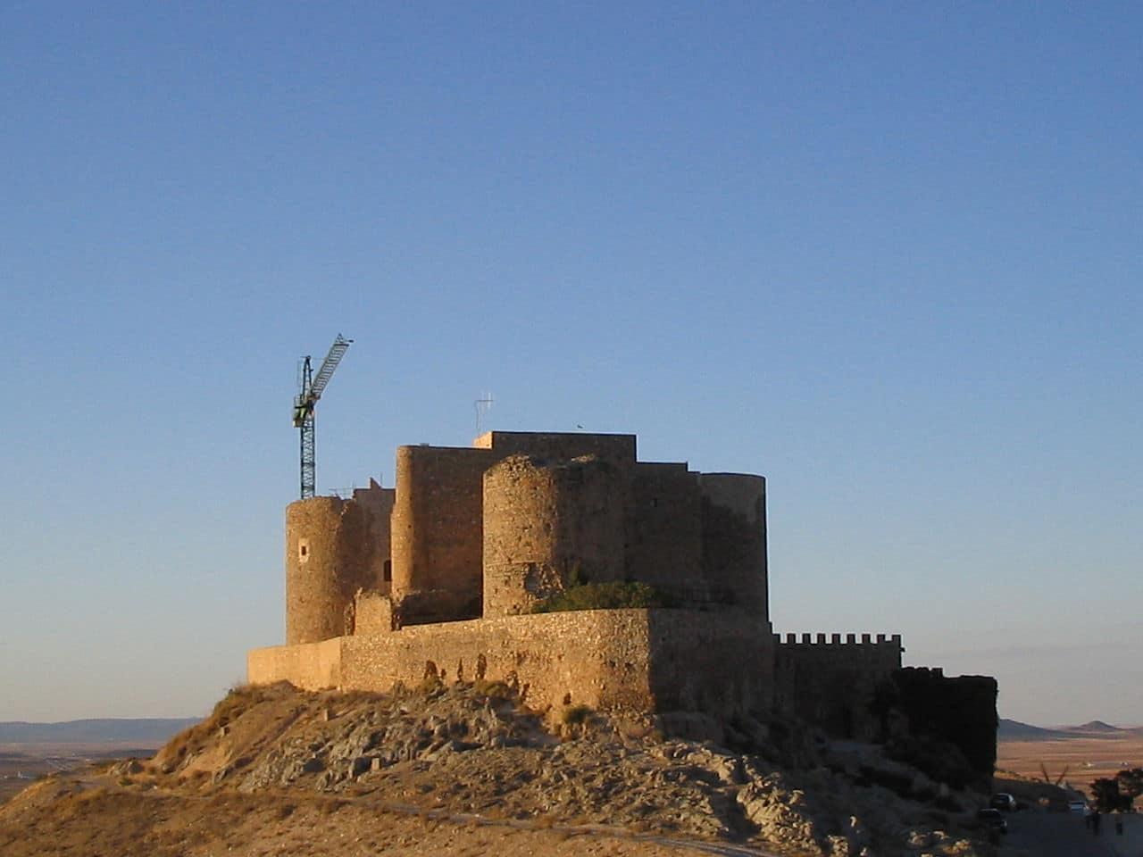 Vista del castillo de La Muela