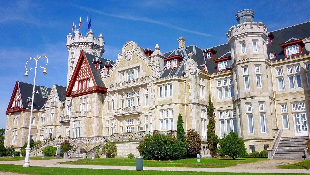 El palacio de la Magdalena