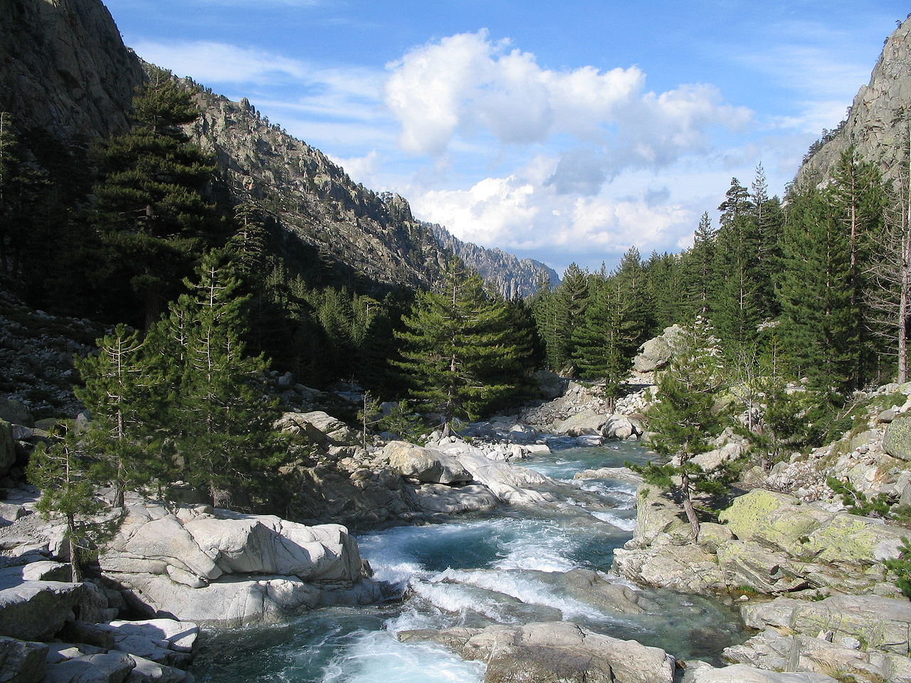 El valle de Restonica