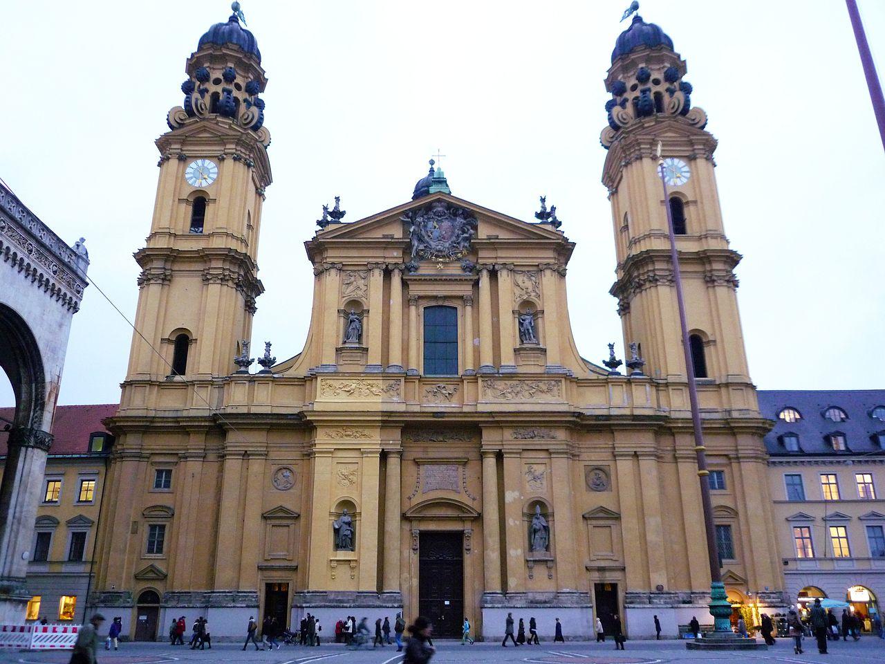 La iglesia de los Teatinos