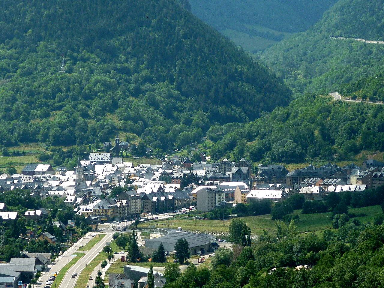 El valle de Arán y Viella, su capital