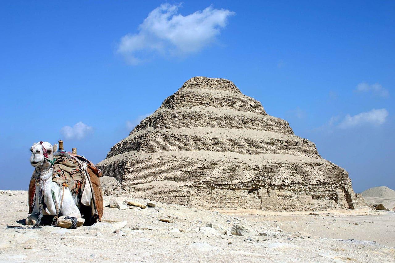 La Pirámide de Saqqara
