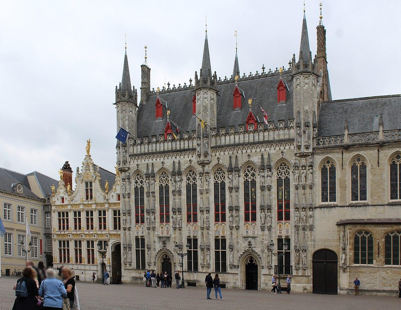 Edificio del Ayuntamiento de Brujas