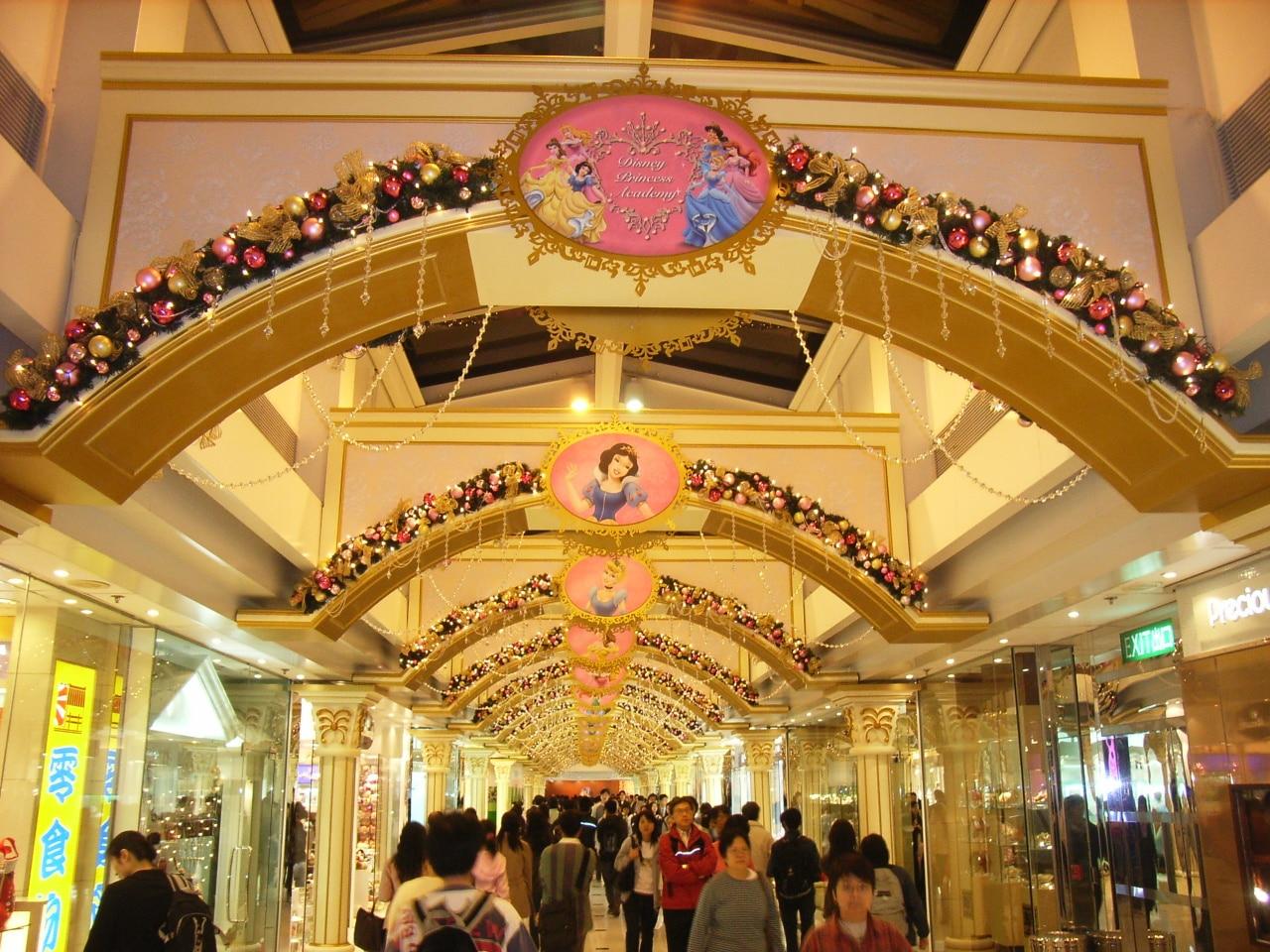 Centro comercial en China
