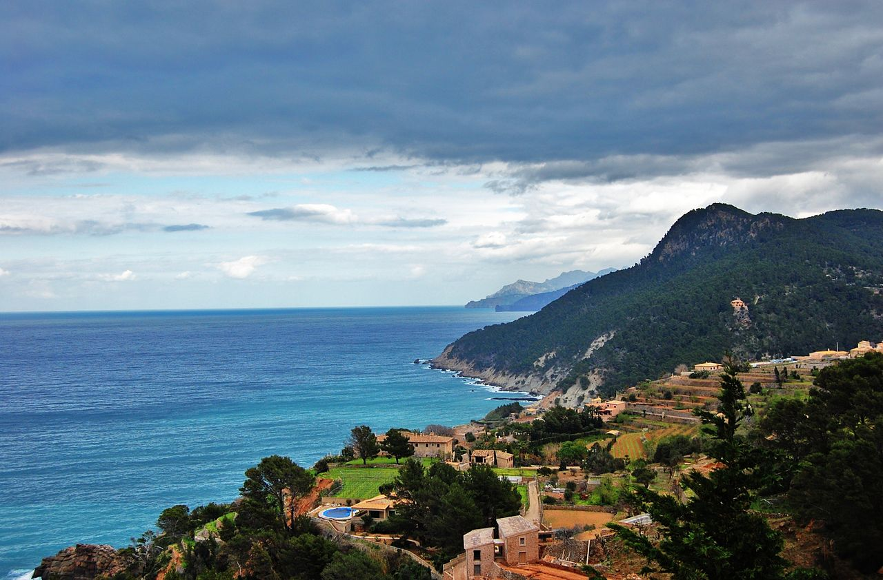 La costa de Mallorca