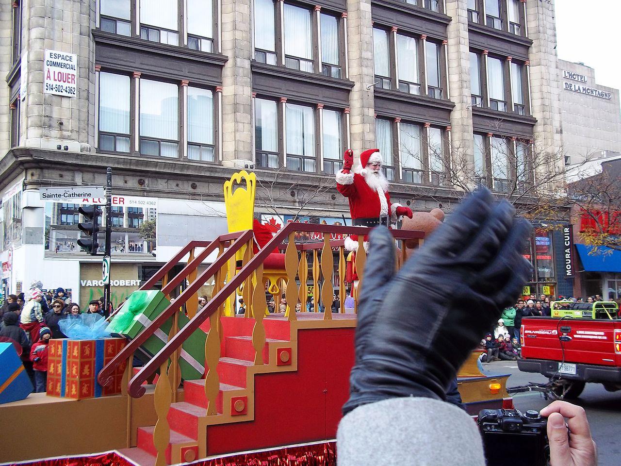 El desfile de Papá Noel