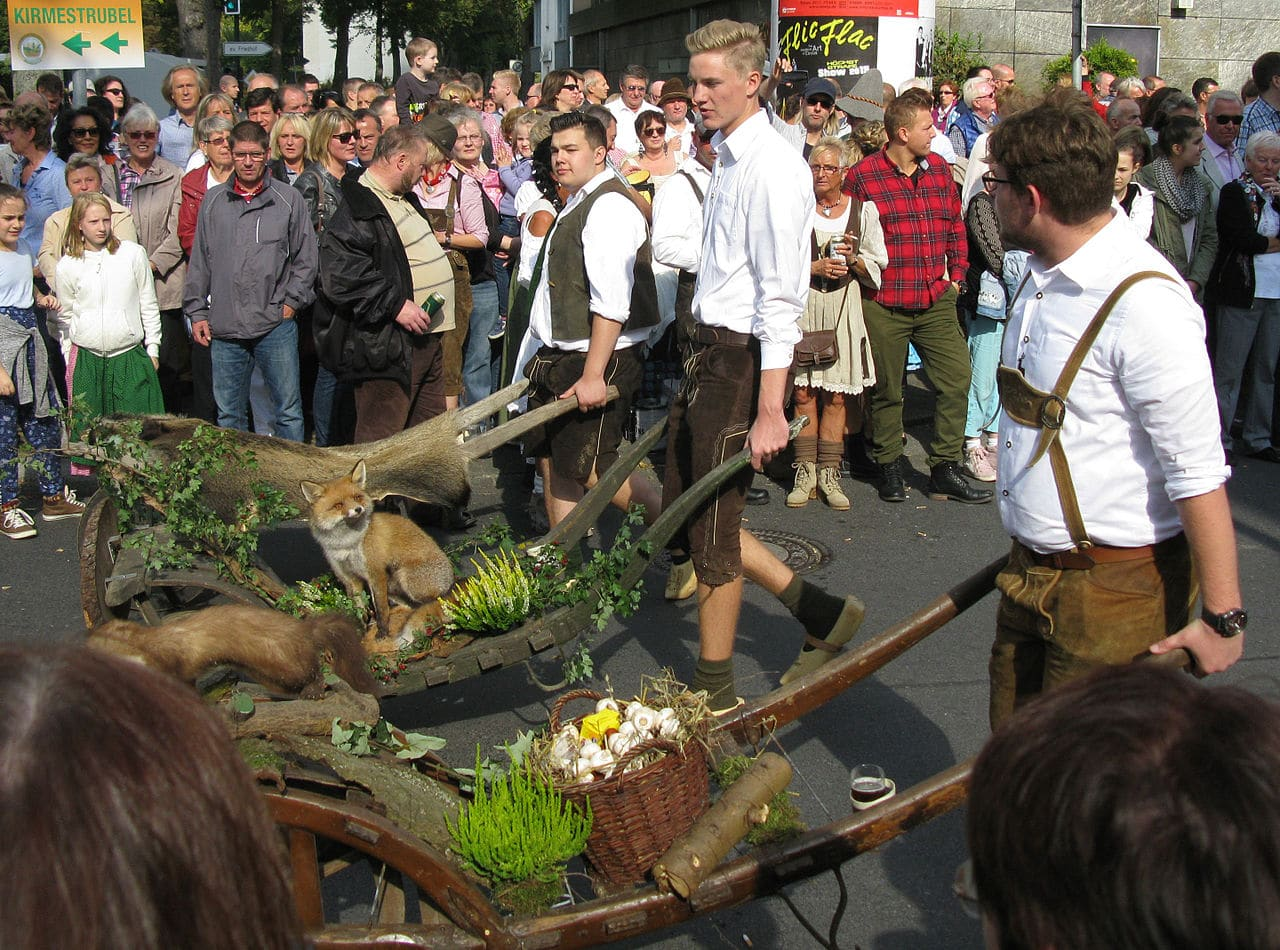 Un festival de Erntedank