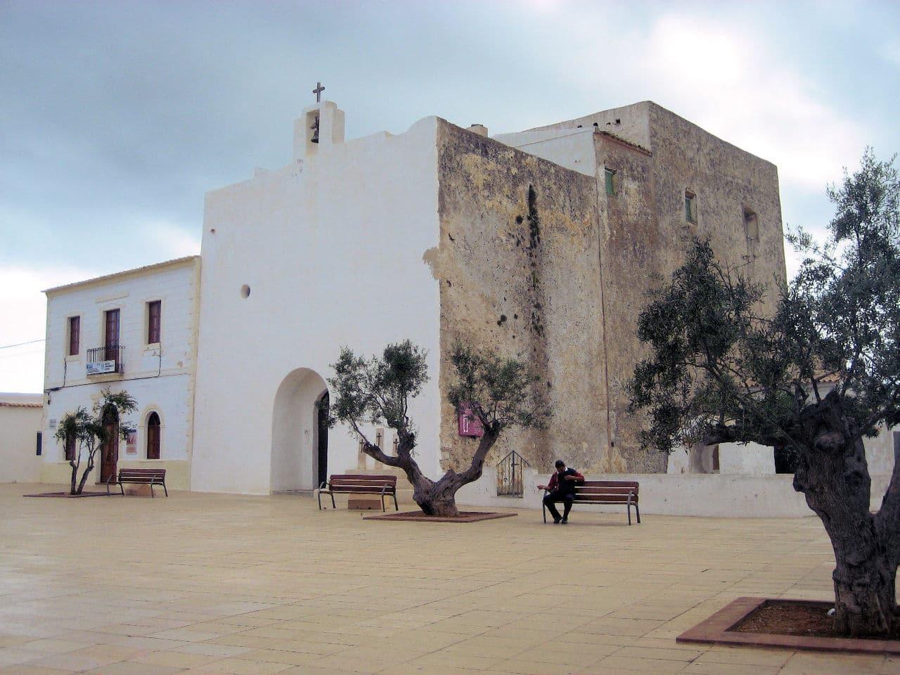 La iglesia de san Francisco Javier