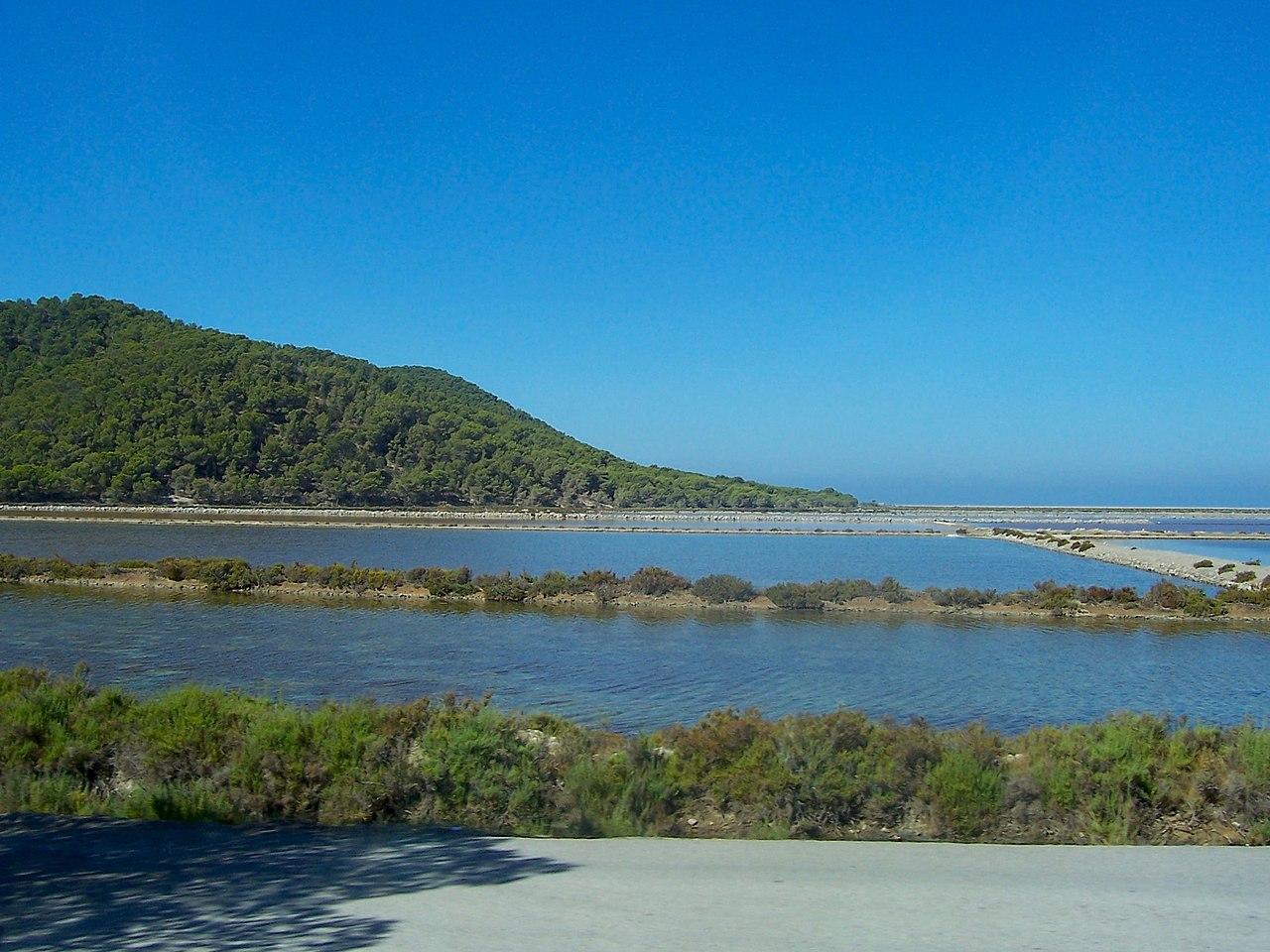 El Parque Natural de las Salinas